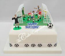 Liverpool Cake Topper Set Comestibles Glaçage Imprimé CFT Football Gâteau Décorations