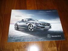 Mercedes Benz SLK Prospekt 12/2010