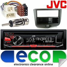 Toyota Yaris 1999 - 2003 JVC CD MP3 USB Aux Android Car Radio Stereo Fitting Kit