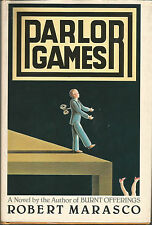 Parlor Games by Robert Marasco Hardcover.  Book club edition!