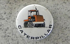Vintage Caterpillar Tractor, Cat Equipment Dozer Badge, Pin
