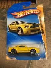 HOT WHEELS 2010 NEW MODELS '10 FORD SHELBY GT500 YELLOW