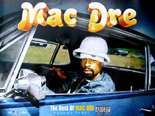 Mac Dre - The Best Of Mac Dre Volume 3 COLOR POSTER NEW + temporary tattoo,Thizz