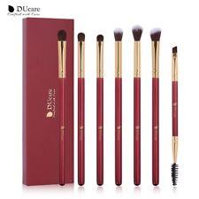 DUcare Professional Makeup Brushes 7 Pc Eyeshadow Eyebrow Spoolie Blending Set