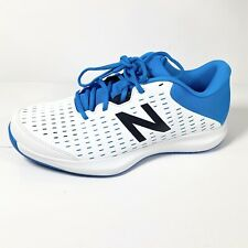 New Balance Men's Tennis Shoes 696R4 White and Blue size 11 D New