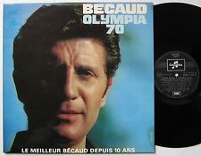 GILBERT BECAUD (LP 33T) OLYMPIA 70