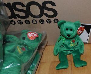 Ty beanie babies I Love Ireland JOB LOT 53 X Bears all new.