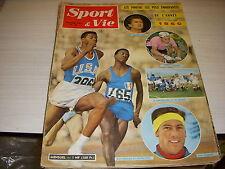 SPORT & VIE 56 01.1961 BILAN 1960 FOOT BARCELONE FRANCE BULGARIE RUGBY BONIFACE