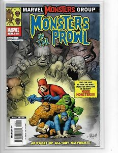 Monsters on the Prowl #1 // Eric Powell cover