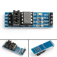 4× A4C256 I2C Interface 256k Bits EEPROM Memory Module 8P Chip Holder  UA