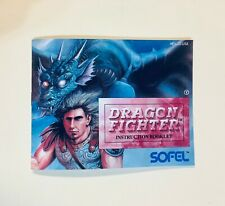 Dragon Fighter - NES Nintendo - Reproduction Manual - Instruction Booklet - US