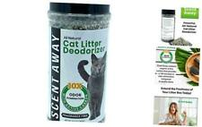 - Fragrance Free Cat Litter Deodorizer with Active Carbon