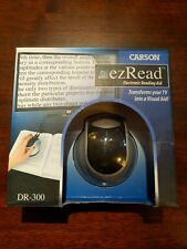 Carson DR-300 EZRead Electronic Digital Reading Aid Magnifier - TESTED