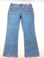 Levi's 515 Bootcut Denim Blue Jeans - Women's Size 12 Short