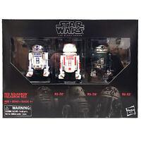 "Star Wars Hasbro Black Series 6"" Red Squadron R2-D2 Astromech 3-pk NEW"