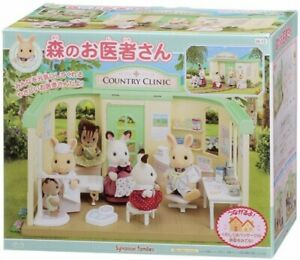 Sylvanian Families Calico Critters H-12 Country Clinic Hospital From Japan