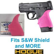 PINK Hogue Rubber HandAll Beavertail Grip Sleeve S&W M&P Shield 9mm 40S&W