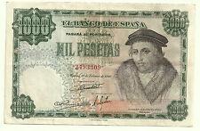BILLETE DE 1000 PESETAS DE 1946 (MBC+) VIVES (SIN SERIE)