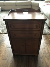 Antique Sewing Cabinet.