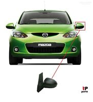 NEW FOR MAZDA 2 07 - 14 ELECTRIC HEATED DOOR WING MIRRORS PRIMED LEFT N/S LHD