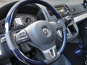 VW T5 Bus Facelift GP 2009-2015 Exklusives Lenkrad im Design *Blue-Star*