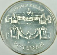 DDR 5,- Mark Sondermünze 1986 - NEUES PALAIS IN POTSDAM -   stgl / unc