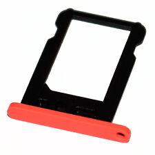 Apple iPhone 5c nano-SIM slot tray Halter Schacht card holder Schlitten pink
