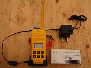 iCOMIC-GM1600E GMDSS Survival Craft VHF Marine Radio. Pre-owned
