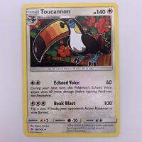 Pokemon Toucannon 108/149 | Sun & Moon | Pack Fresh | Rare Non-Holo Card