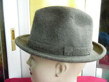 CAPPELLO VINTAGE ORIGINALE-PRESIDENT-LINEA PANIZZA-MADE IN ITALY-MIS. 56 3683321d057f