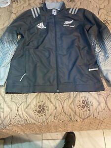 all blacks rugby jacket Medium