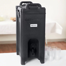 5 Gallon Insulated Beverage Dispenser Tea Coffee Hot Cold Catering Restaurant