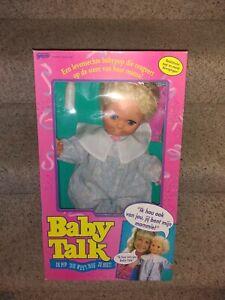 Vintage Rare Galoob Baby Talk Talking Doll DUTCH VERSION NEW GALCO A.T.M. SAMPLE