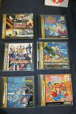 Original Sega Saturn Games Rare Shmups & More, Many Choices - Read Below Tested