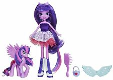 My Little Pony Equestria Girls Twilight Sparkle Doll and Pony Set , New, Free Sh