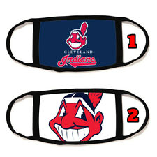 Cleveland Indians Face Mask Cotton material Reusable Washable Made in U.S #5