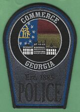 COMMERCE GEORGIA POLICE PATCH