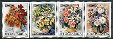 2614 - Yugoslavia 1993 - Flowers - Bouquet of Flowers - Flora - Roses - MNH Set