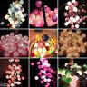 20 COTTON BALL FAIRY LED STRING LIGHTS WEDDING PARTY PATIO CHRISTMAS DECOR HOT