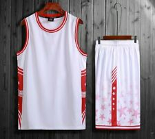 New Mens Running Basketball Jersey Kit Uniform Sport Athletic Game Suits