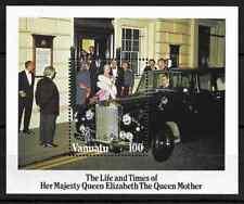 Vanuatu 1985 Life & Times of the Queen Mother MNH mini sheet M.S. 410
