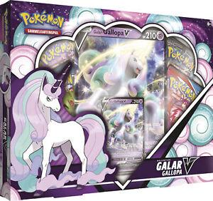 Pokemon Galar-Gallopa V-Box - Deutsch