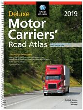 Rand McNally 2019 Deluxe Motor Carriers' Truck Drivers' Laminated Road Atlas
