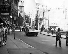 Photo. ca 1963. Boston, MA.  Parade Celebration on Washington Street