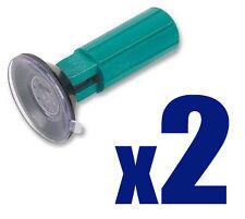 2 x Halogen Bulb Remover Gu10 Mr16 etc - 38mm Suction Cup Holder Adjustable