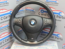 BMW 1 3 SERIES M SPORT STEERING WHEEL WITH AIRBAG MULTIFUNCTION BLACK Ex E87 E90
