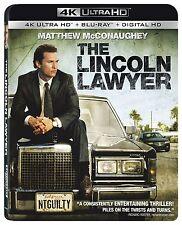 THE LINCOLN LAWYER  (4K ULTRA HD) - Blu Ray -  Region free