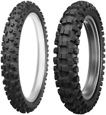 Dunlop Motorcycle Tire Combo Geomax MX-52 Front 80/100-21, Rear 110/100-18