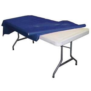 """Plastic Banquet Party Table Cover Roll - 40"""" x 300 Feet - Disposable FREE SHIP!!"""