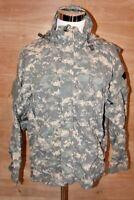 US Army Gen III ACU Digital Camo Softshell Cold Weather Jacket X-Large Long